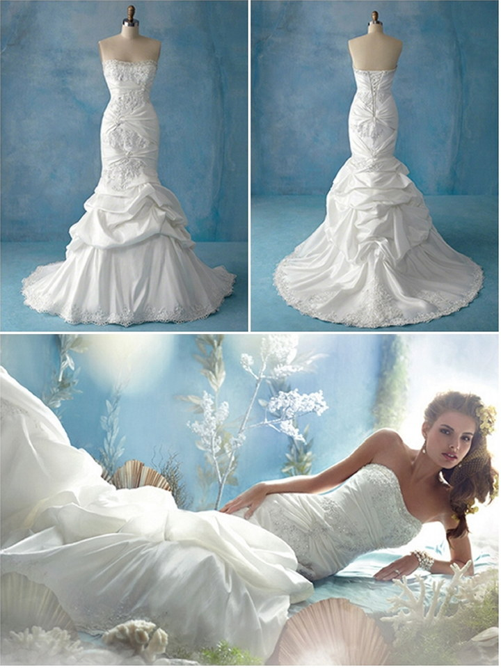 Disney Ariel Wedding Gown