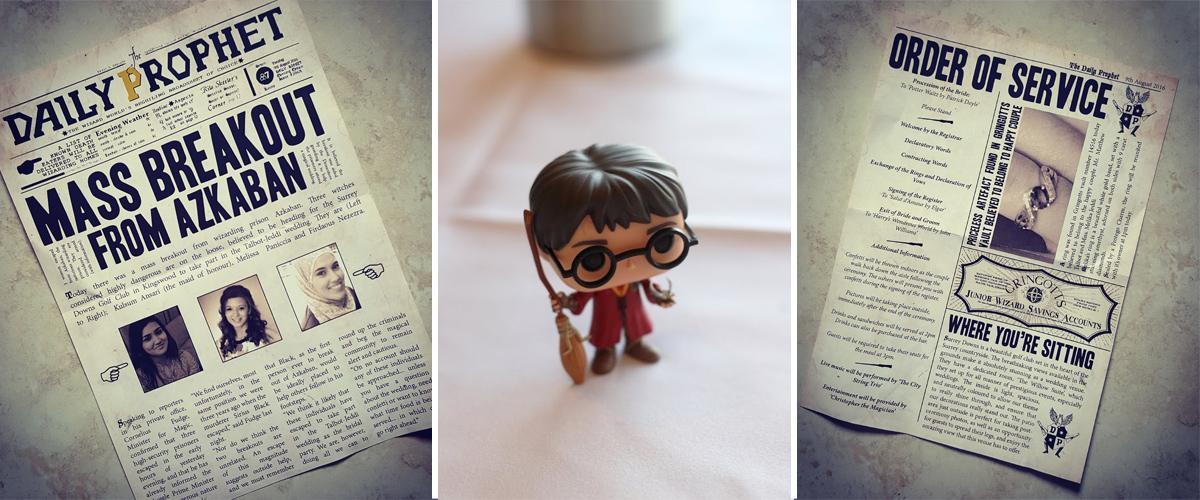 Harry Potter Wedding – Melika and Matt's Real Wedding at Surrey Downs Golf Club