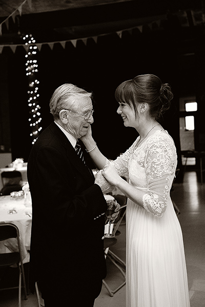 Father of the bride - Photo by Jenny Hardy