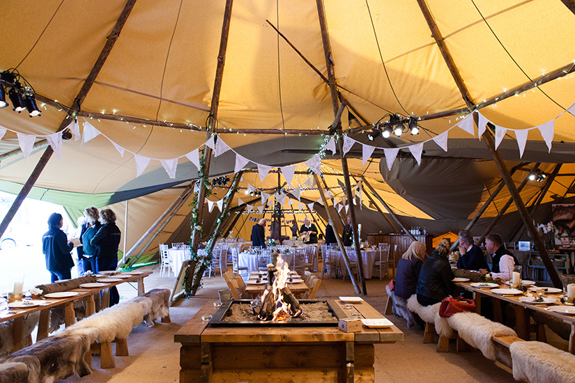 World Inspired Tents South West Tipi Hire