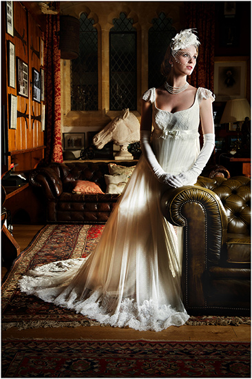 Chanticleer - Wedding Dress in Gloucestershire