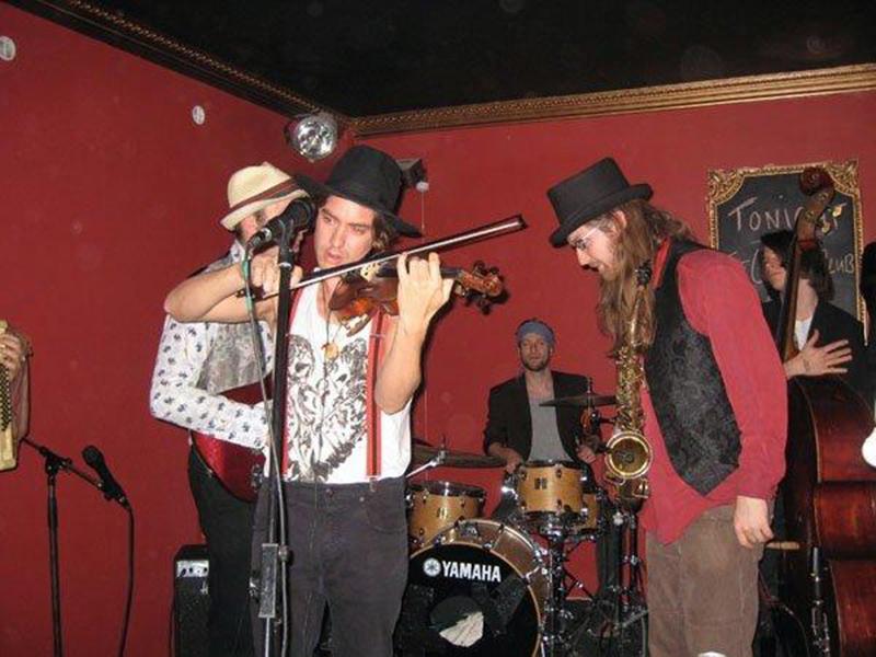 The Gadjo Gypsies Klezmer Gypsy Band In London