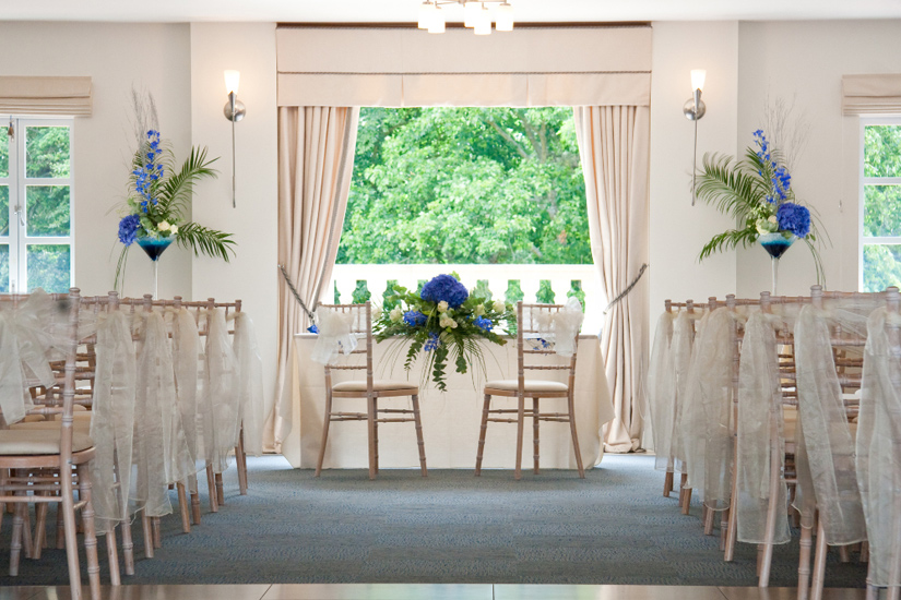Indoor Wedding Ceremony: Bournemouth Venue