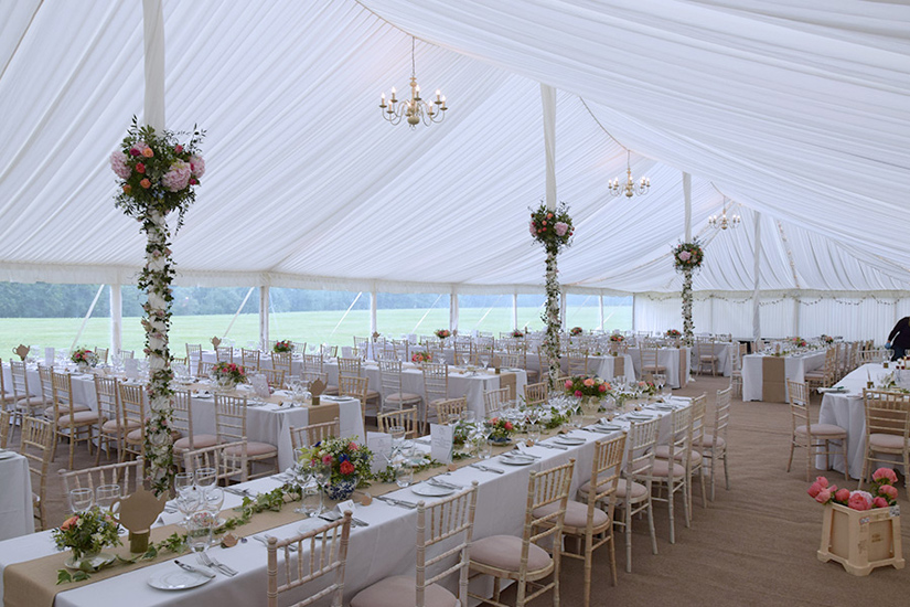 Carron marquees wedding marquee hire based out of surrey carron marquees marquee hire surrey junglespirit Choice Image