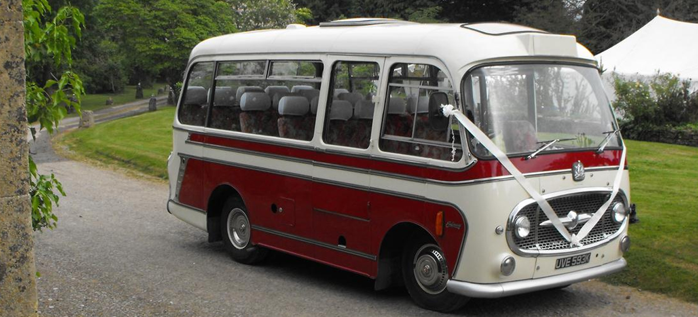 Vintage bus hire devon
