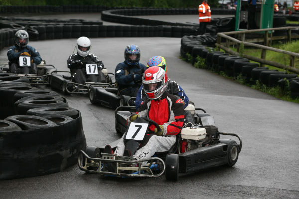 Drive-Tech Ltd  Go Karting at Castle Combe for Hens and Stags