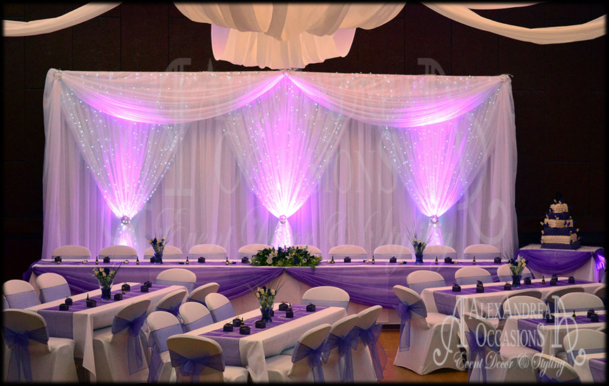 Alexandrea occasions wedding venue decoration and for 25th wedding anniversary stage decoration