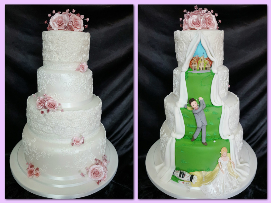 The Icing Centre Wedding Cakes In Somerset