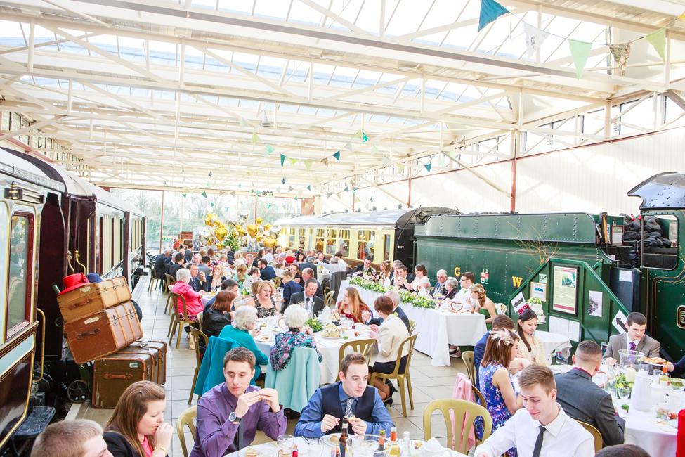Buckinghamshire Railway Centre Alternative Wedding Venue In