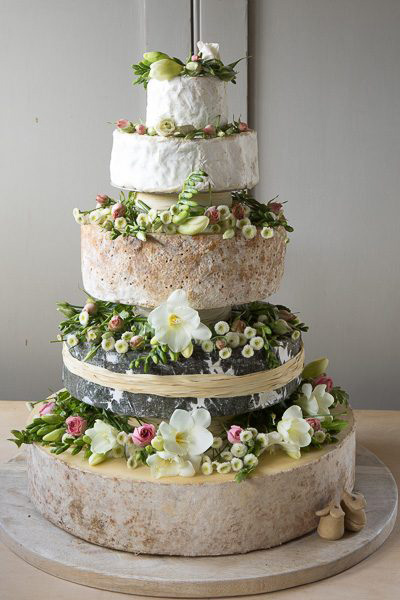 cheese wedding cakes devon west country cheese 12607