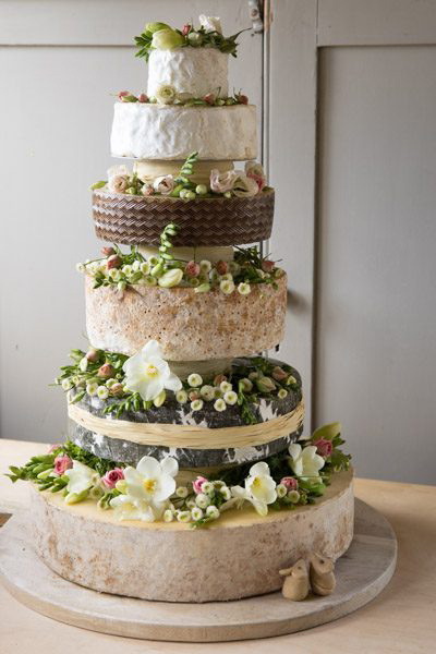 wedding cakes makers south wales west country cheese 24970