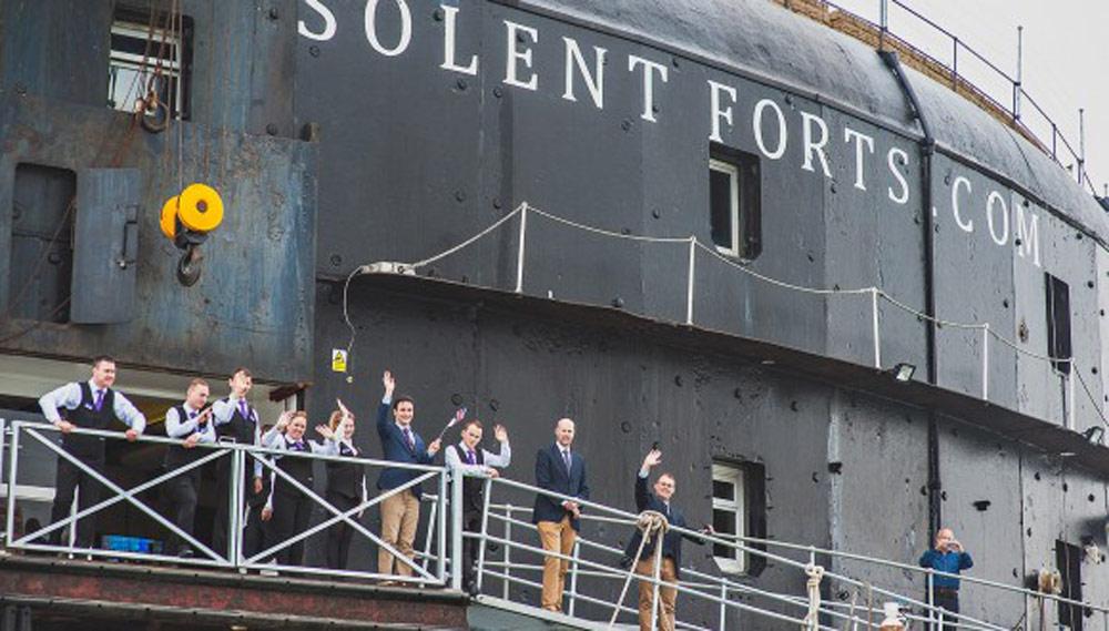 Solent Fort Weddings Unusual Wedding Venue Portsmouth