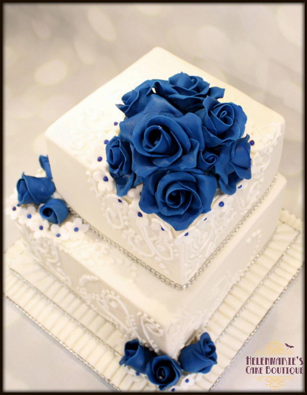 Fancy Wedding Cakes Buckinghamshire Ideas - Blue Wedding Color Ideas ...