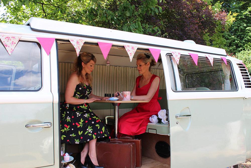 Vintage Camper Booths - Photo Booth Devon