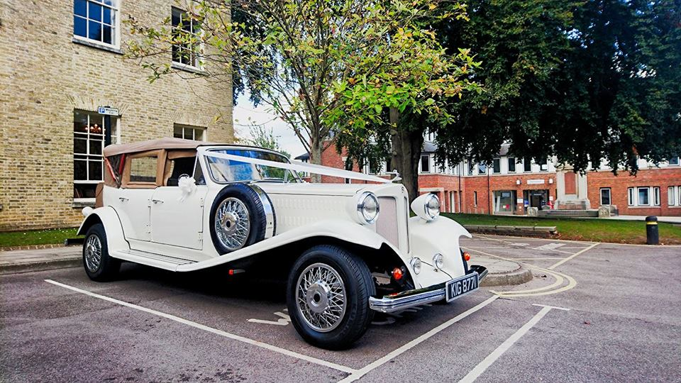 Collins Wedding Car Hire - based in Reading, Berkshire