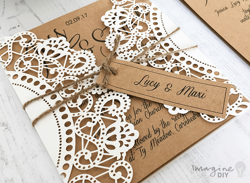 Imagine DIY - Wedding Stationery South Wales