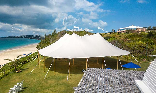 event tent table