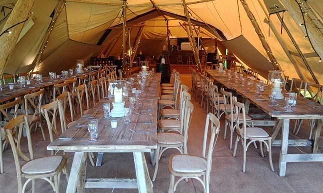 Wedding Marquee Hire in West Sussex