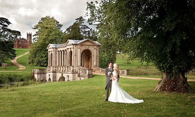 Wedding venues near me wedding reception venues in the uk the gardens at national trust stowe junglespirit Choice Image