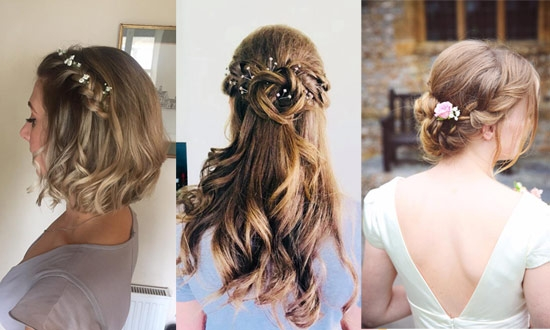 Bridal Hair by Helen