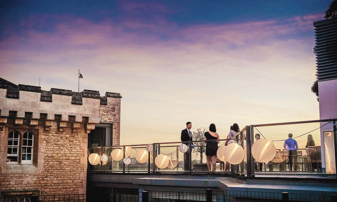Malmaison oxford weddings for Prison converted to hotel