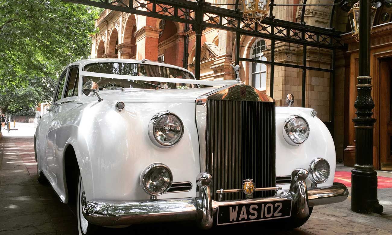 Modern Wedding Car Hire Bath