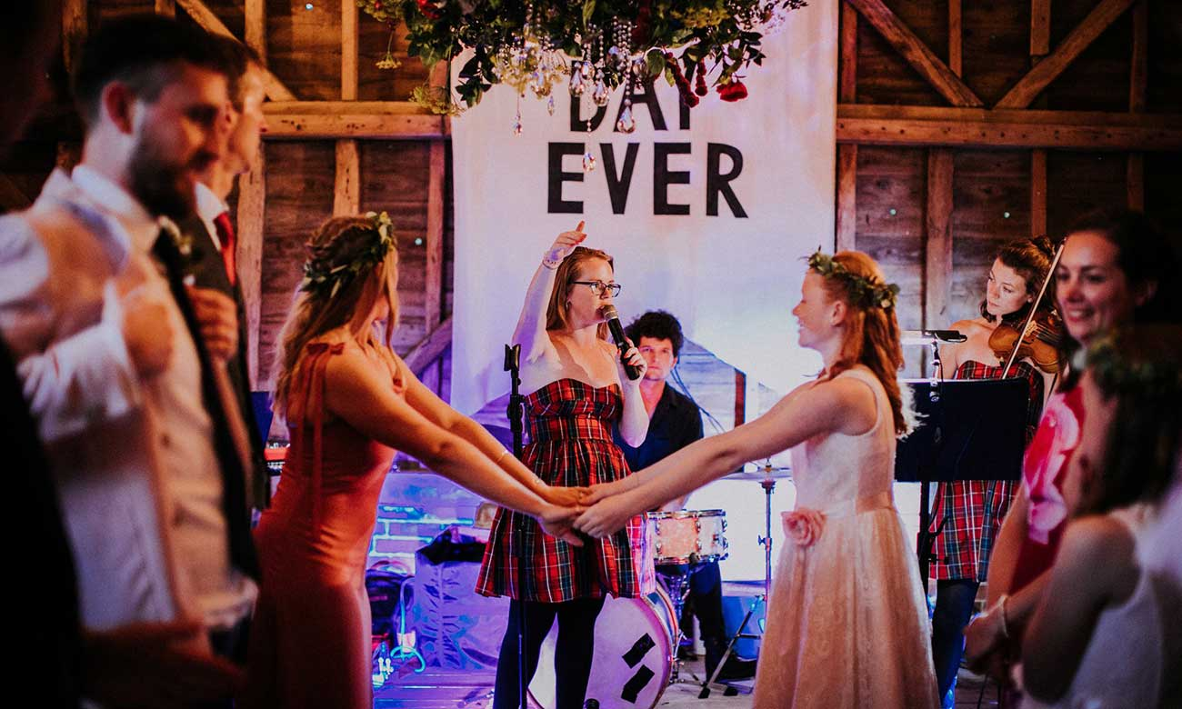 Licence To Ceilidh Wedding Band In London