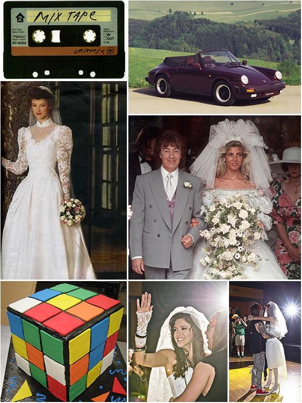 1980s Themed Wedding The Wedding Secret Magazine