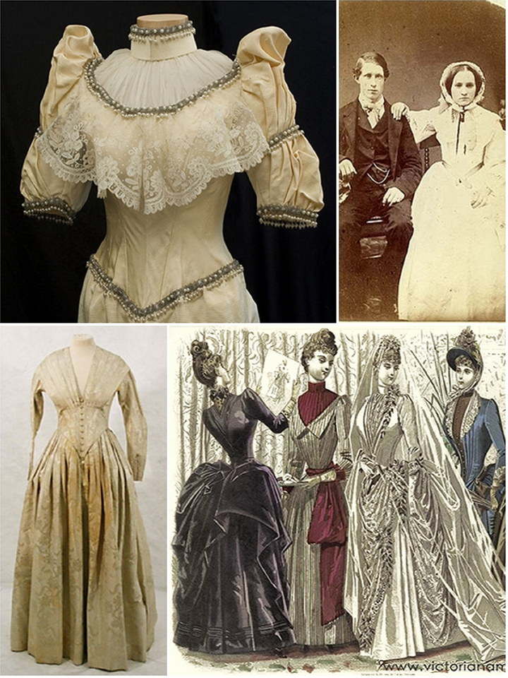 A look back at Victorian Wedding Gowns | The Wedding Secret Magazine