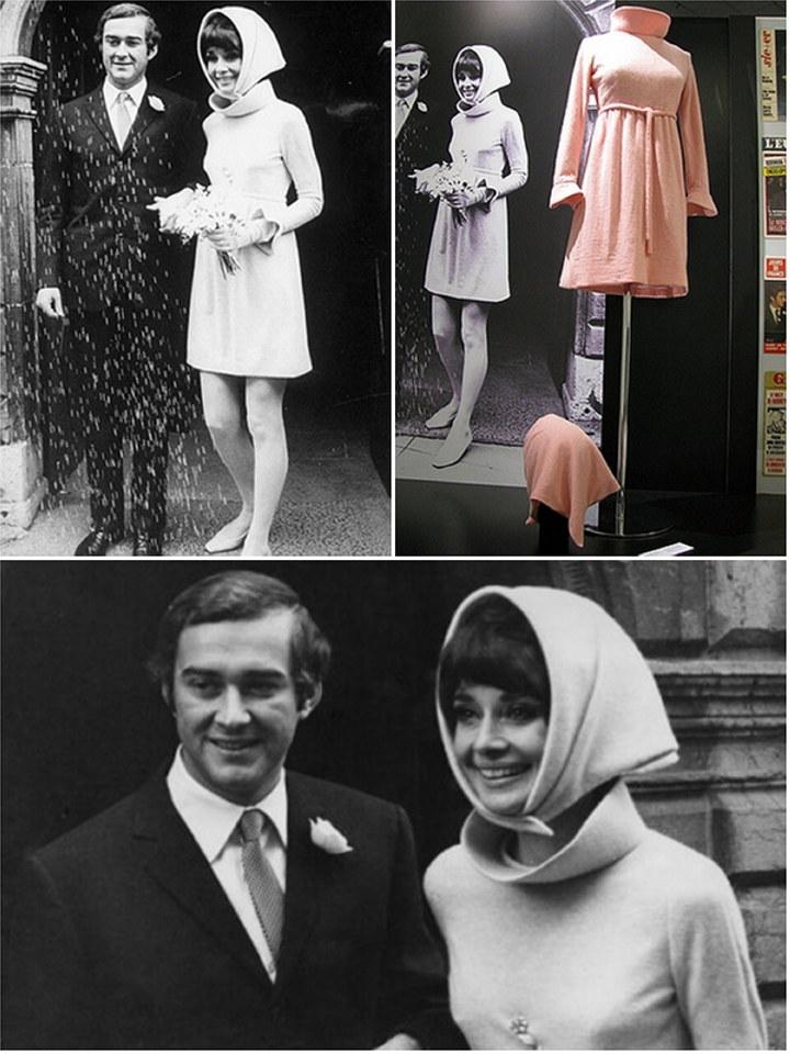 Iconic Wedding Dresses Audrey Hepburn Part 2 The Wedding