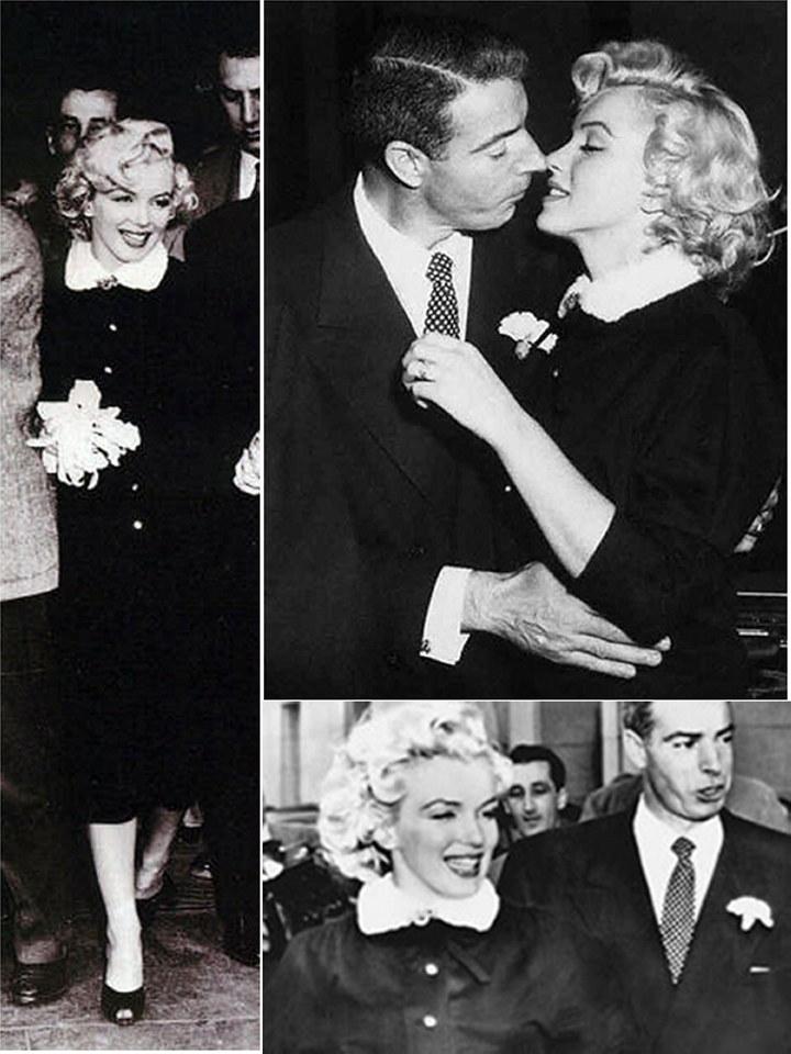 771196dd1b Iconic Wedding Dresses  Marilyn Monroe
