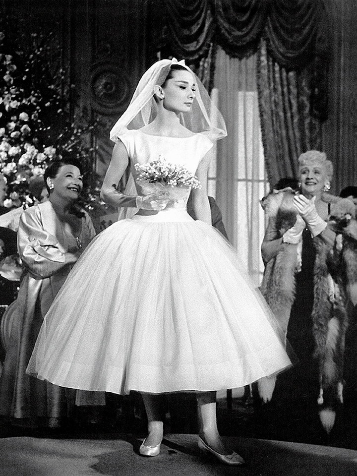 Iconic wedding dresses from the movies : \'Funny Face\' | The Wedding ...