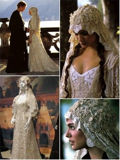 Iconic Wedding Dresses In Film : 'Star Wars'