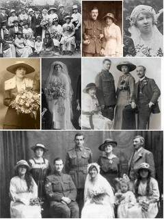 A Look Back At Wartime Brides : WW1