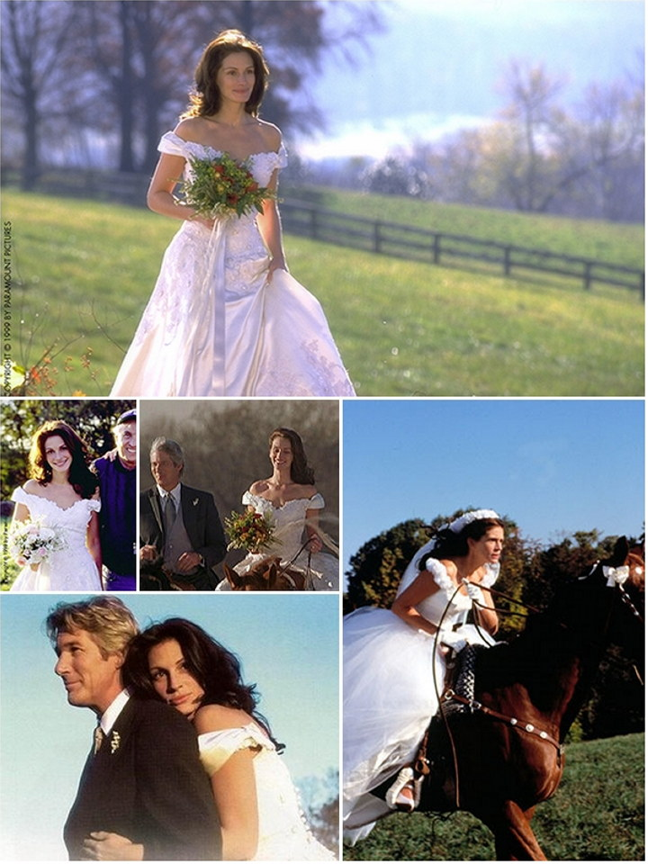 Iconic Wedding Dresses In Film : Runaway Bride | The Wedding Secret ...