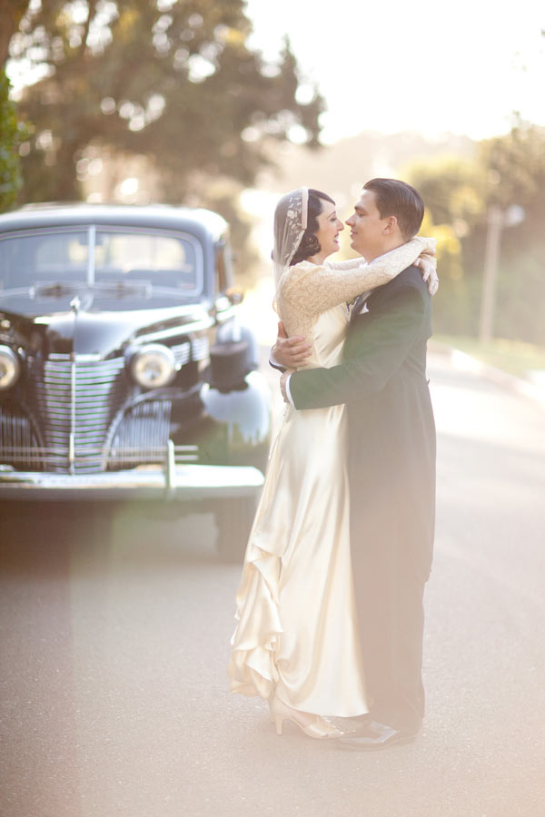 Featured Blog A Beautifully Coordinated Vintage Wedding The