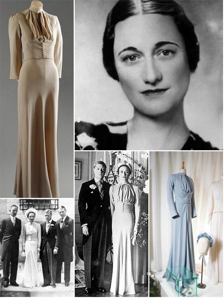 Iconic Wedding Dresses Wallis Simpson The Wedding