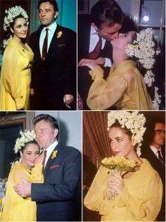 Iconic Wedding Dresses : The Serial Marriages Of Elizabeth Taylor (Part Two)