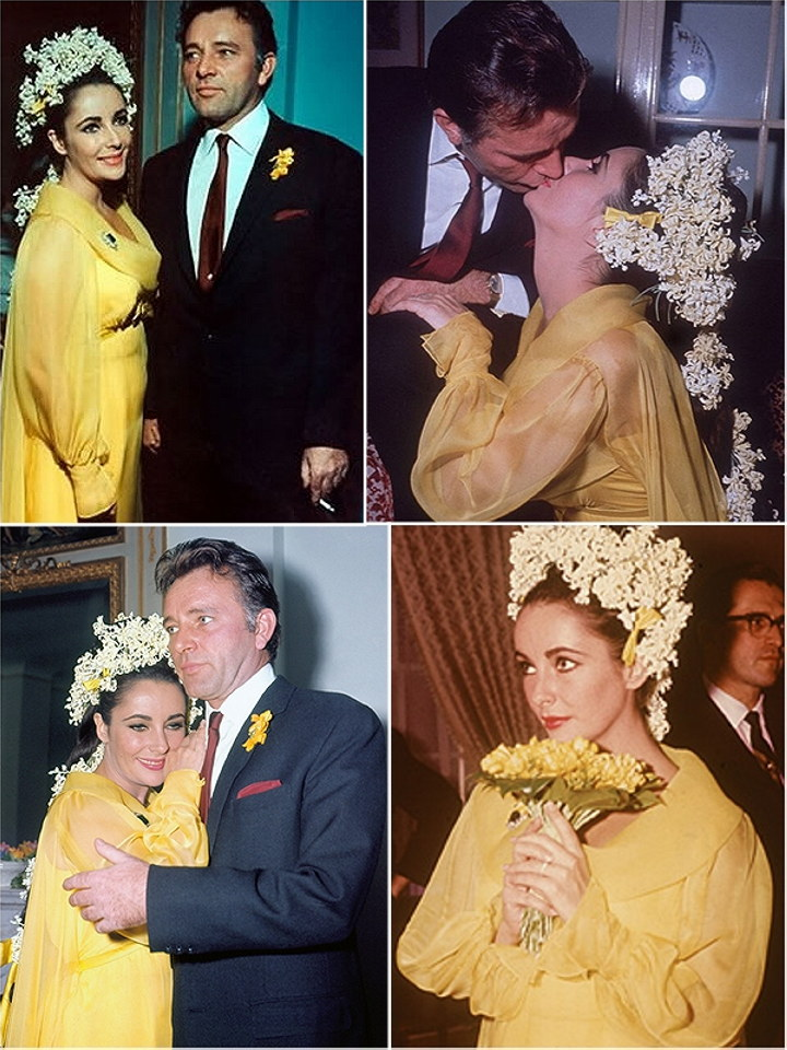 Iconic Wedding Dresses The Serial Marriages Of Elizabeth Taylor