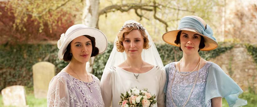 Downton Abbey-Themed Wedding Dress Inspiration