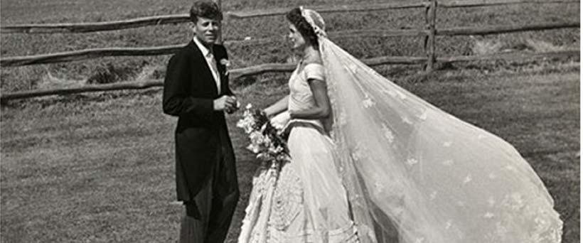 Iconic Wedding Dresses: Jacqueline Bouvier