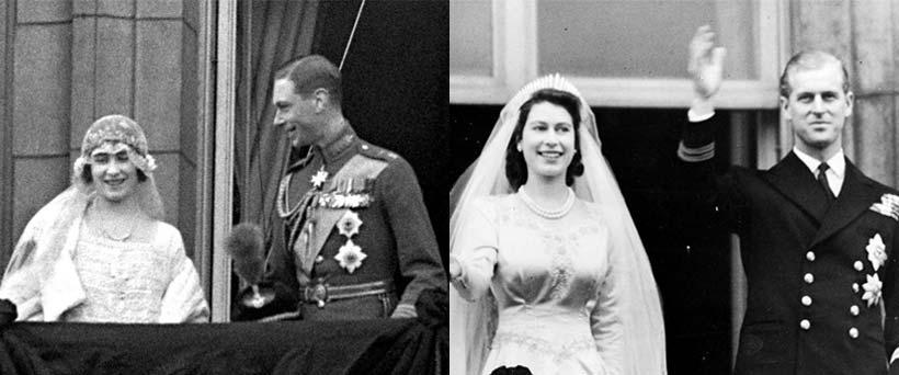 Queen Elizabeth Ii Wedding.The Weddings Of King George Vi And Queen Elizabeth Ii