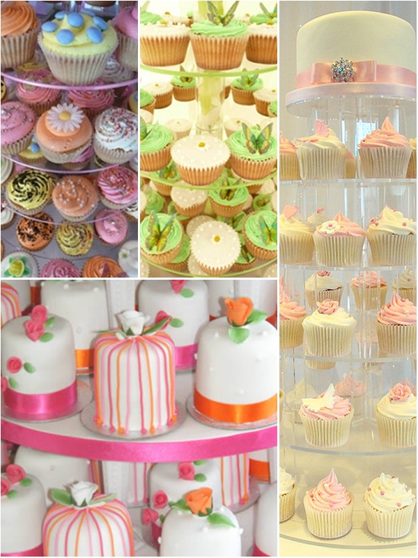 DIY Wedding Ideas : Cupcake Wedding Cakes! | The Wedding Secret Magazine