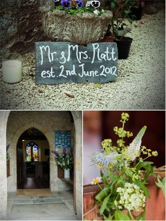 Rebecca and Nick's lovely, personal DIY wedding in Weycroft Hall