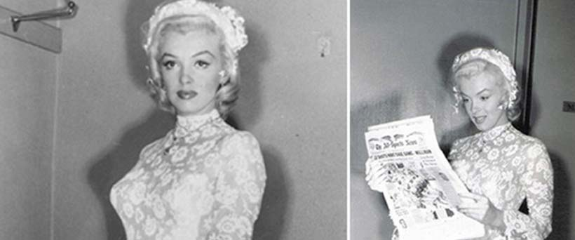 Iconic Wedding Dresses In The Film: Gentlemen Prefer Blondes