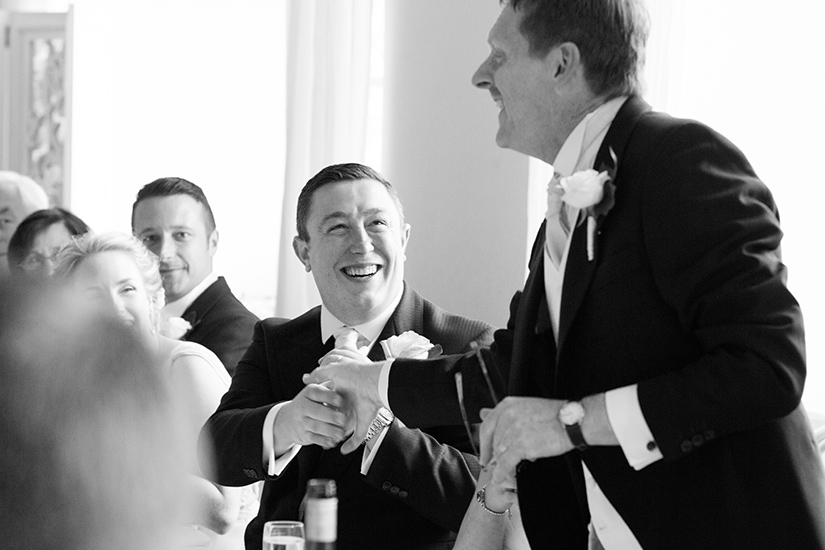 Groom Speech - Photo by Nicola Jane