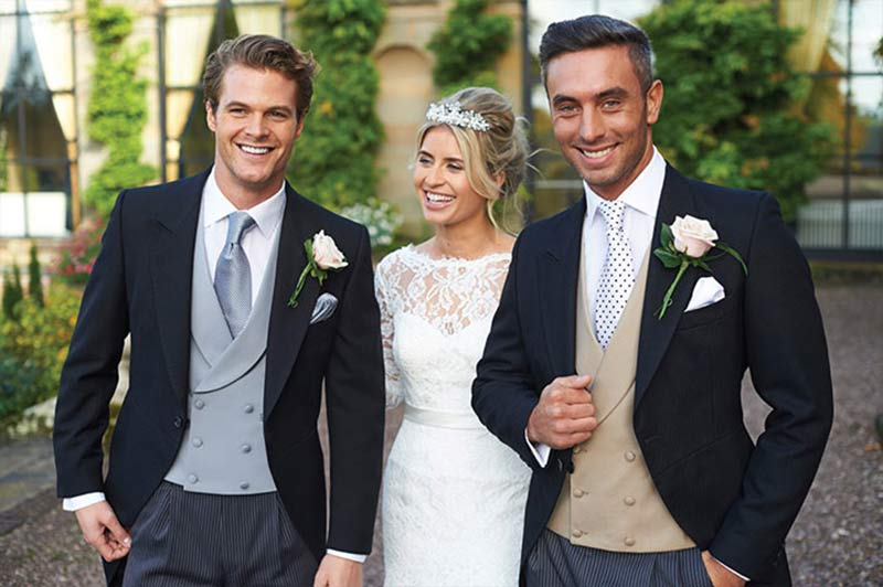 Examples of wedding suits from Suits Newbury