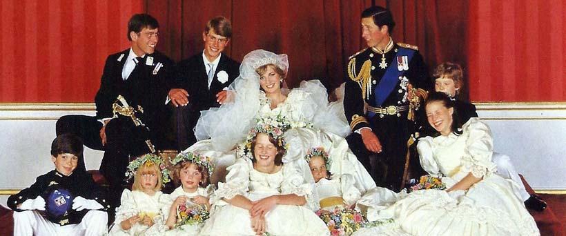 A Royal Wedding History: Andrew, Edward and Charles
