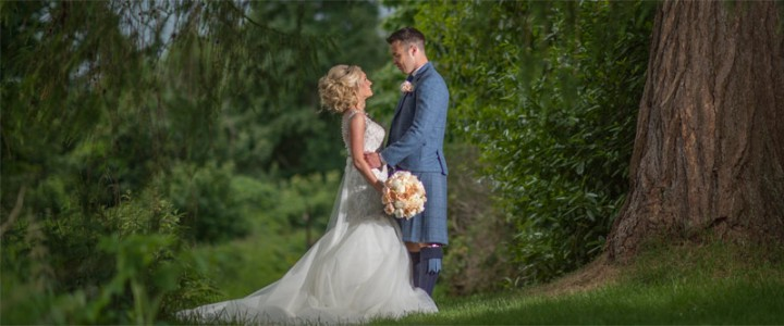 Real Wedding – Ashleigh and Craig's Scottish Wedding