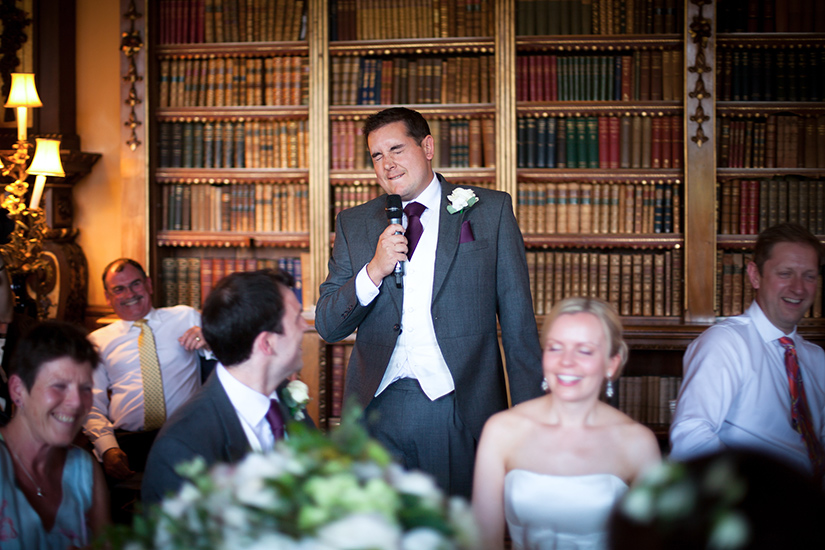 Groom Speech - Photo by Susie Mackie
